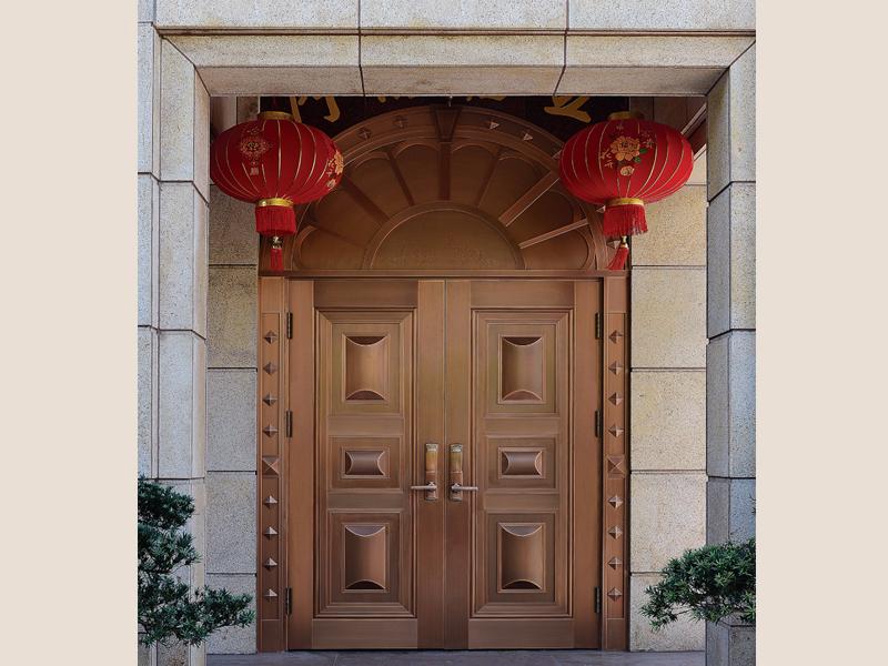 别墅豪华铜门