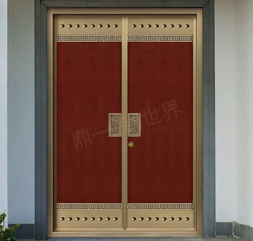 别墅铜门进户门厂家定制供应