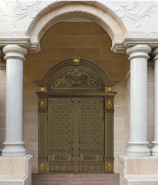 铜门的挑选原则及铜门结构