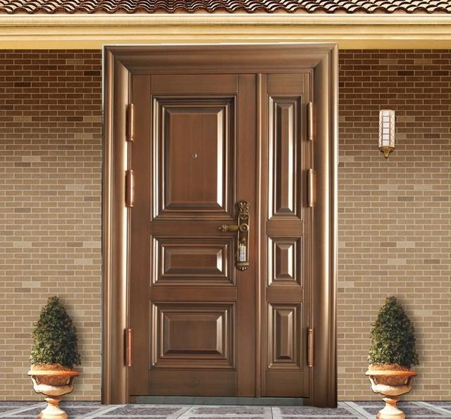 室外别墅铜门需注意天气的损坏
