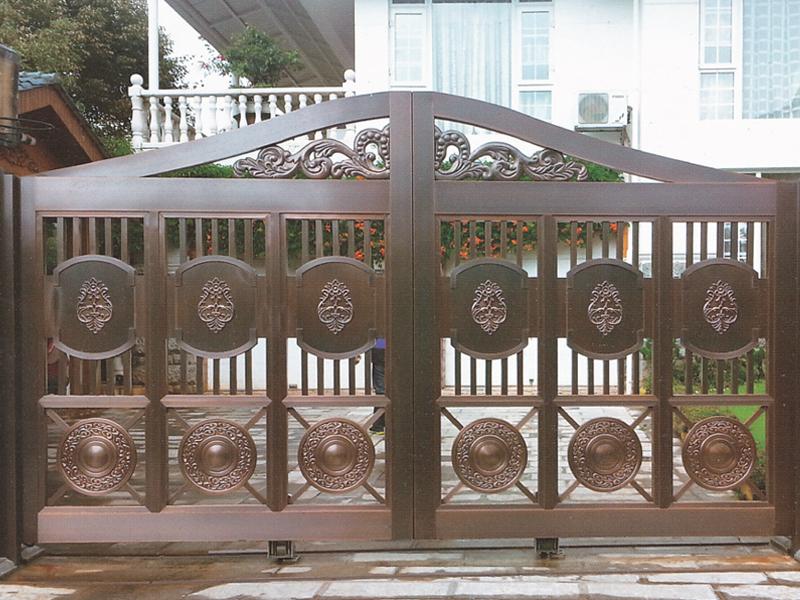 艺术品的气息--别墅铜门
