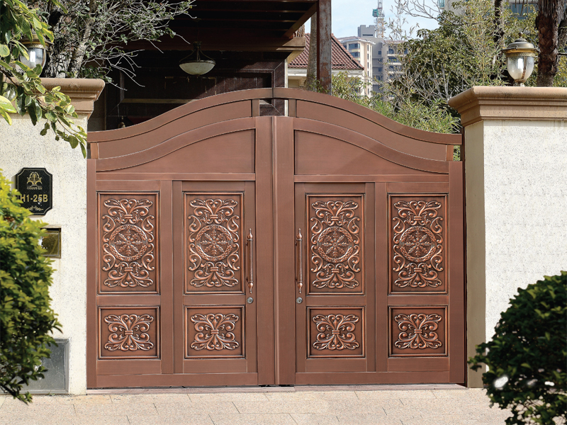 鼎一铜门告诉你别墅铜门的性能特点